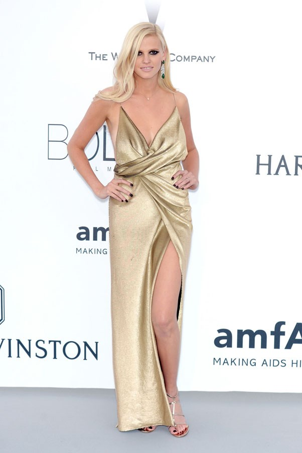 <strong>Lara Stone</strong> <br><br> AmfAR's 22nd Cinema Against AIDS Gala in Cannes, 2015