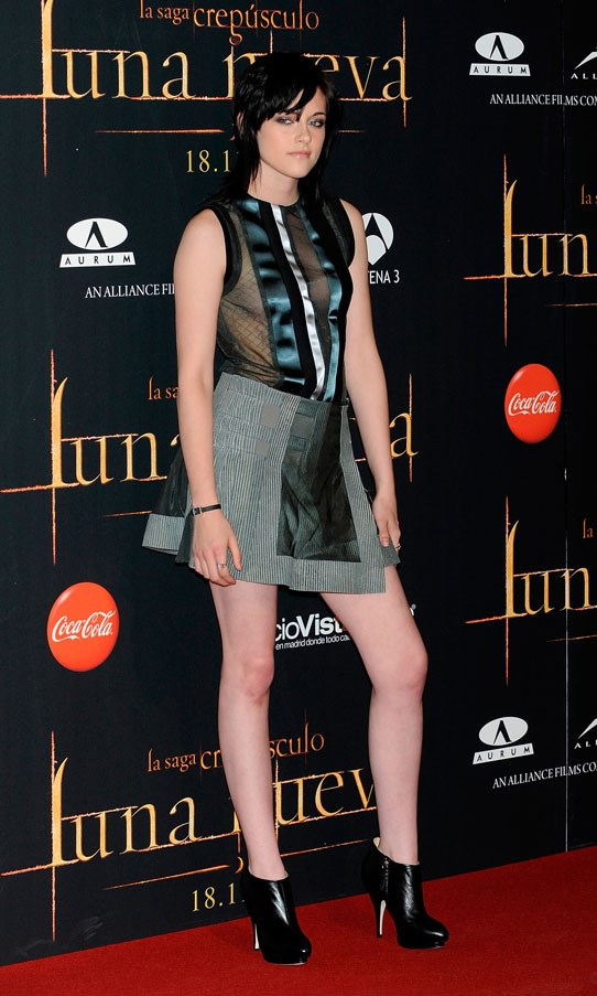 <strong>NOVEMBER 12, 2009</strong> <BR><BR> At 'The Twilight Saga: New Moon' fan party in Madrid