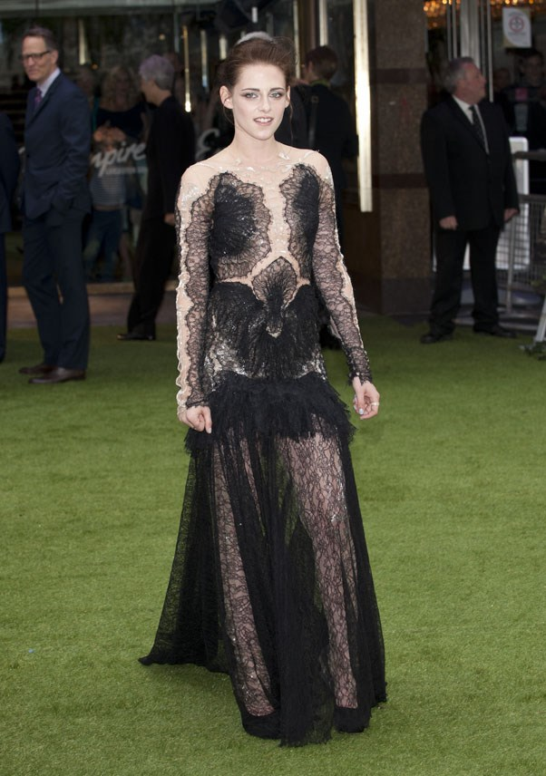 <strong>MAY 14, 2012</strong> <BR><BR> Attending the 'Snow White And The Huntsman' Premiere in London