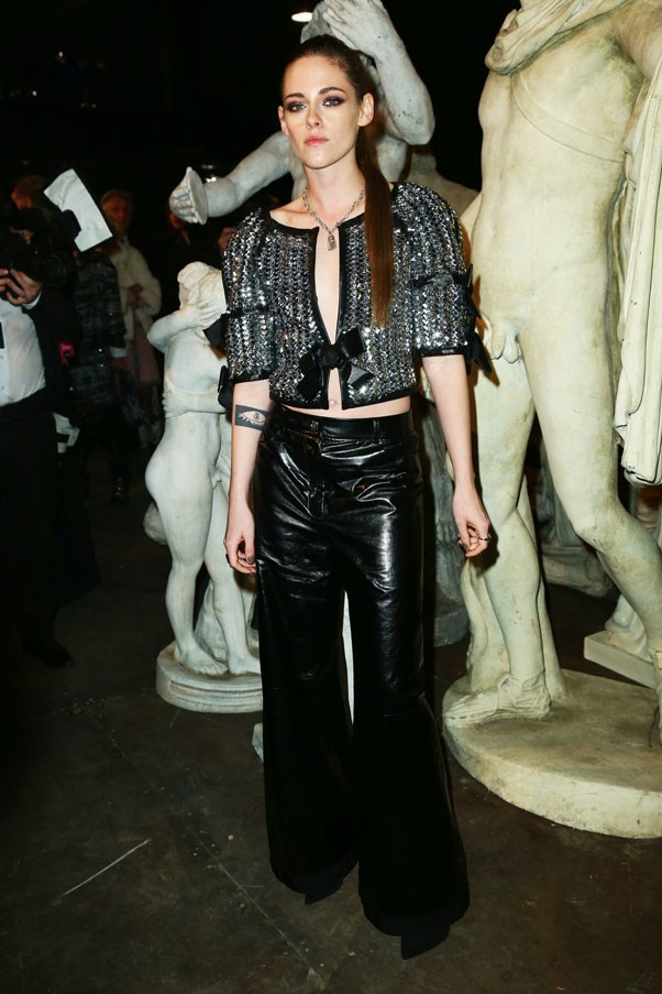 <strong>DECEMBER 1, 2015</strong> <BR><BR> At the Chanel Metiers d'Art 2015/16 Fashion Show