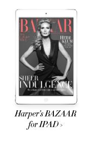 Harper's Bazaar on iPad