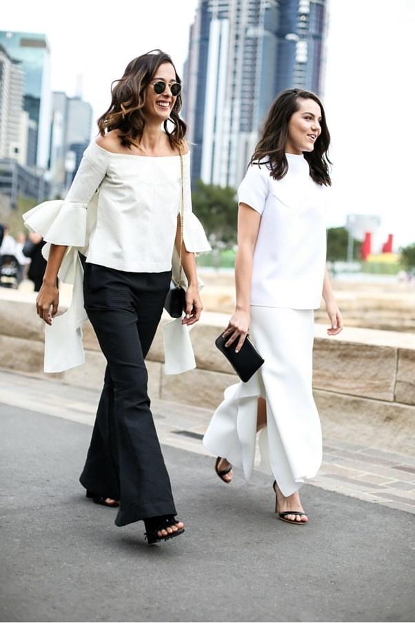 "Eleanor Pendleton and Georgia Martin <br><br> Image: Courtesy of <a href=""https://www.instagram.com/backstreetbyindia/?hl=en"">Backstreet By India</a>"