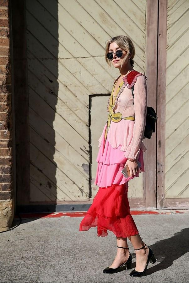 Carmen Hamilton in Gucci