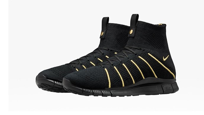 """NikeLab Free Mercurial Flyknit X OR<br><br> Courtesy of <a href=""""http://news.nike.com/news/nikelab-olivier-rousteing"""">Nike</a>"""
