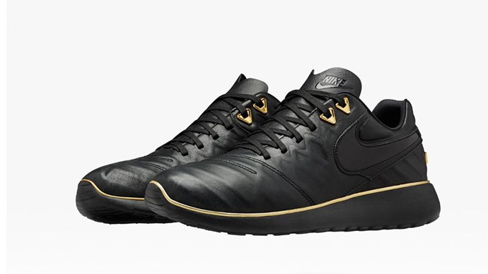 """NikeLab Roshe Tiempo VI X OR<br><br> Courtesy of <a href=""""http://news.nike.com/news/nikelab-olivier-rousteing"""">Nike</a>"""