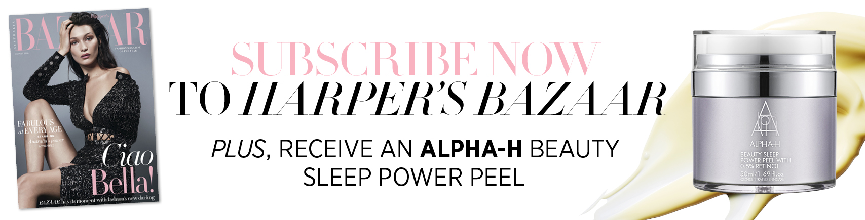 Subscribe to Harper's Bazaar