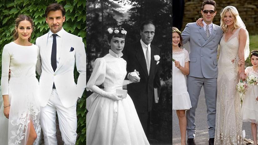 Celebrity Wedding Dresses 1990s : Best celebrity wedding dresses of all time harper s bazaar