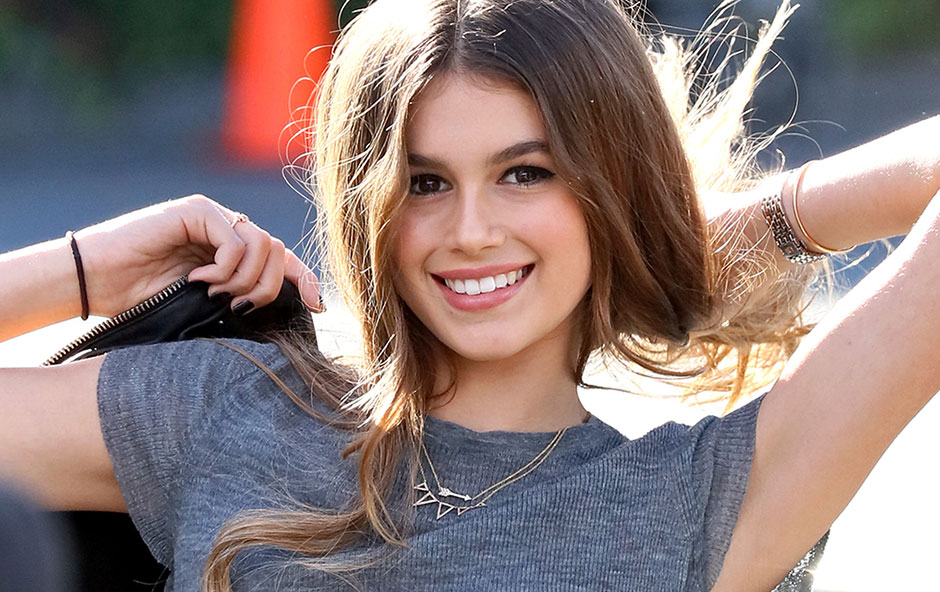 kaia gerber lands her first solo magazine cover harper s