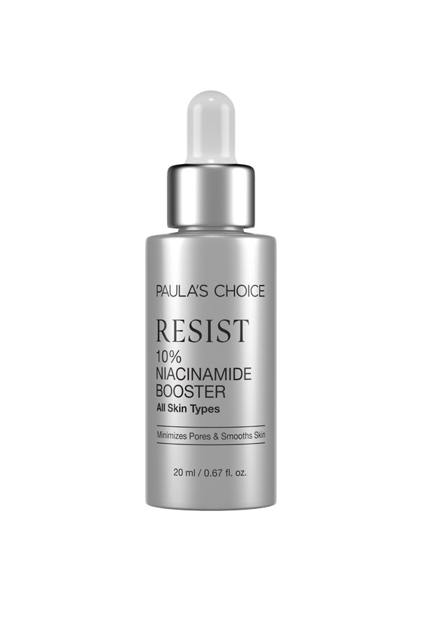 """<strong>Boosters: </strong> <br><br>These treatment products target specific skin concerns associated with ageing, such as uneven tone and texture. As well as refining the skin, they can also rebalance hydration levels. Unlike serums, which you apply directly to the skin, you can add 2-3 drops into your moisturiser to up the anti-ageing ante. <em><br><br>Paula's Choice Resist 10% Niacinamide Booster, $67, <a href=""""http://www.paulaschoice.com.au/shop/collections/Resist-Anti-Ageing/treatments/_/Resist-Ten-Percent-Niacinamide-Booster"""">Paula's Choice </a></em>"""