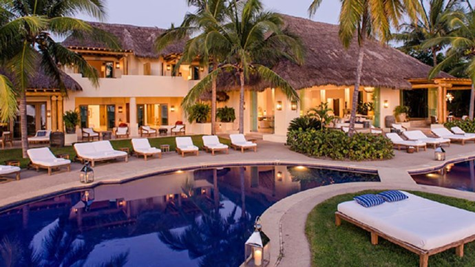 Step inside Kim Kardashian's vacation Mexican beach pad and cry of jealousy with us.