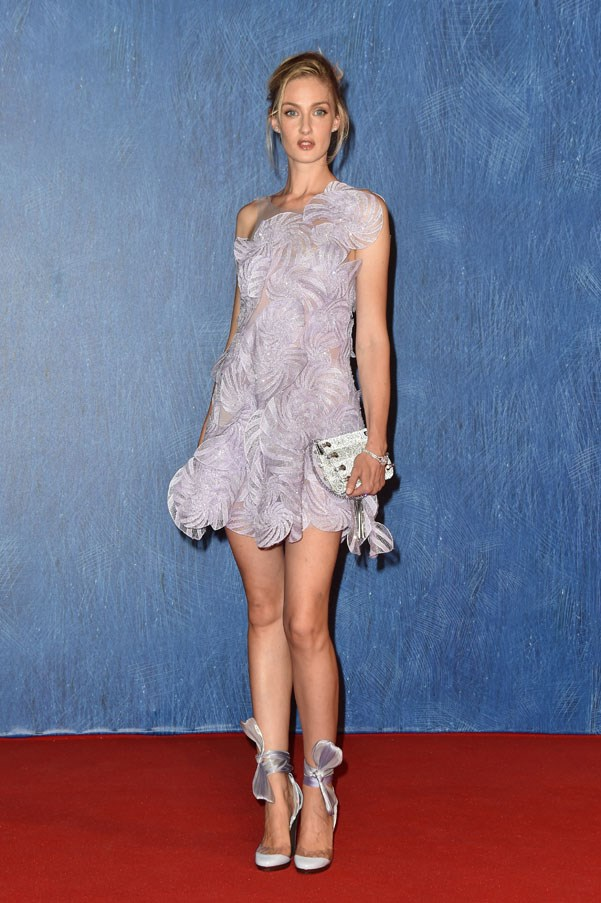Eva Riccobono attends the premiere of <em>Franca: Chaos And Creation</em>.