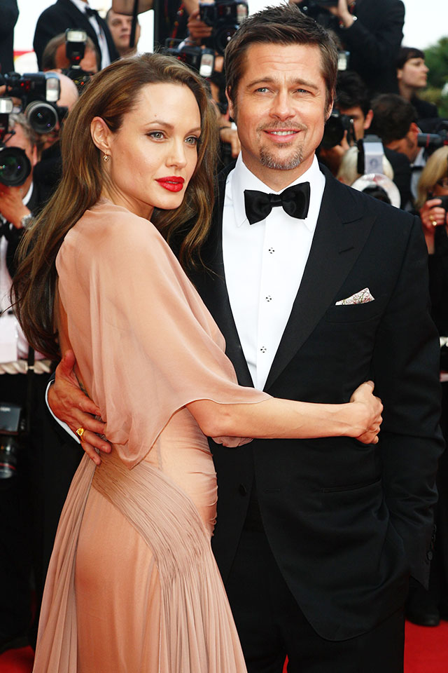 All the Times Brad and Angelina Made us Go Gooey on the Red Carpet