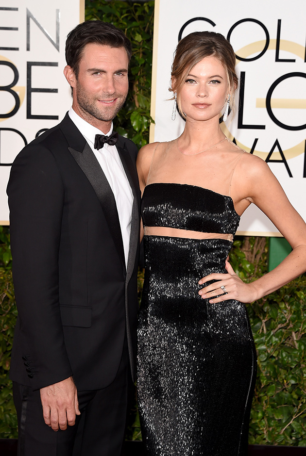 Behati Prinsloo And Adam Levine Share Their First Baby Photo