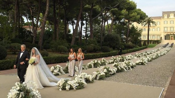 Millionaire Wedding Alberto Mugrabi Colby Jordan Billionaire Heirs
