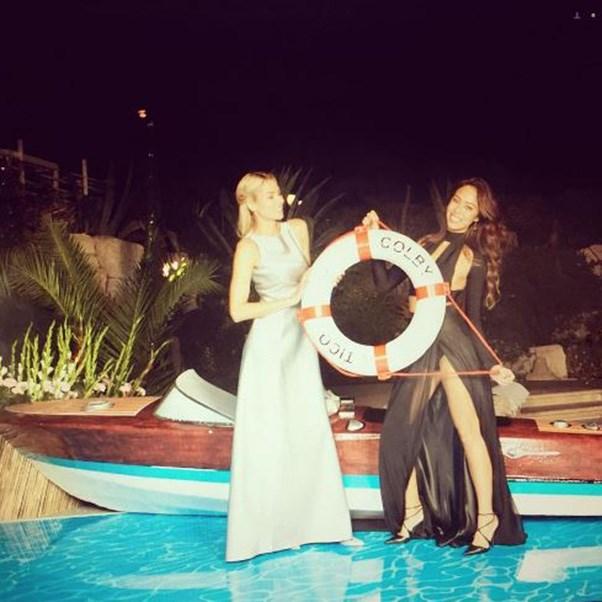 """<strong>The guests</strong><br><br> Including Jessica Hart<br><br> Instagram: <a href=""""https://www.instagram.com/p/BK0CkCiB6bL/?taken-by=1jessicahart&hl=en"""">@1jessicahart</a>"""