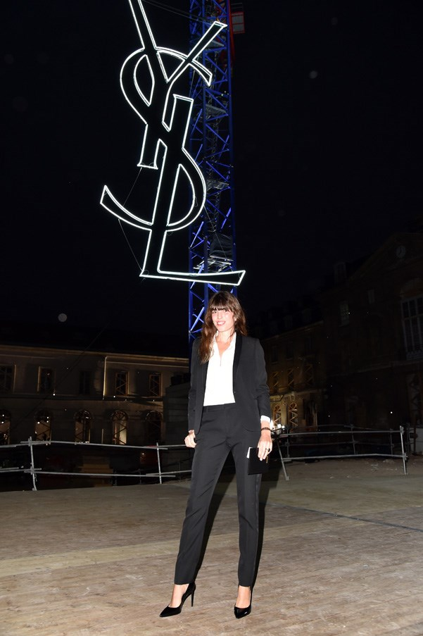 Lou Doillon at Saint Laurent