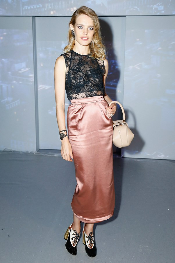 Natalia Vodianova at Etam