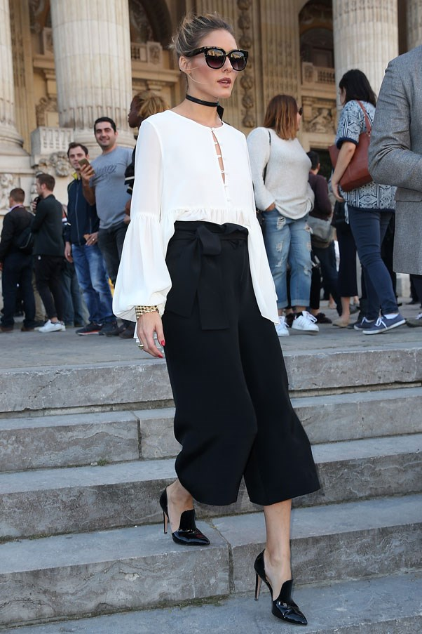Olivia Palermo at Barbara Bui