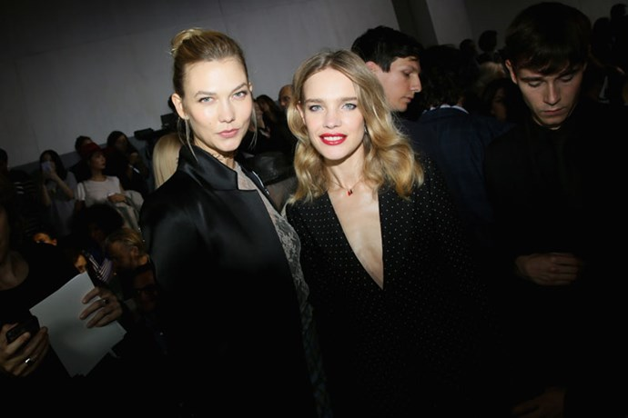 Karlie Kloss and Natalia Vodianova