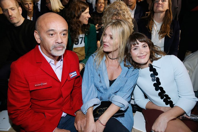 Christian Louboutin, Kate Moss and Gemma Arteton