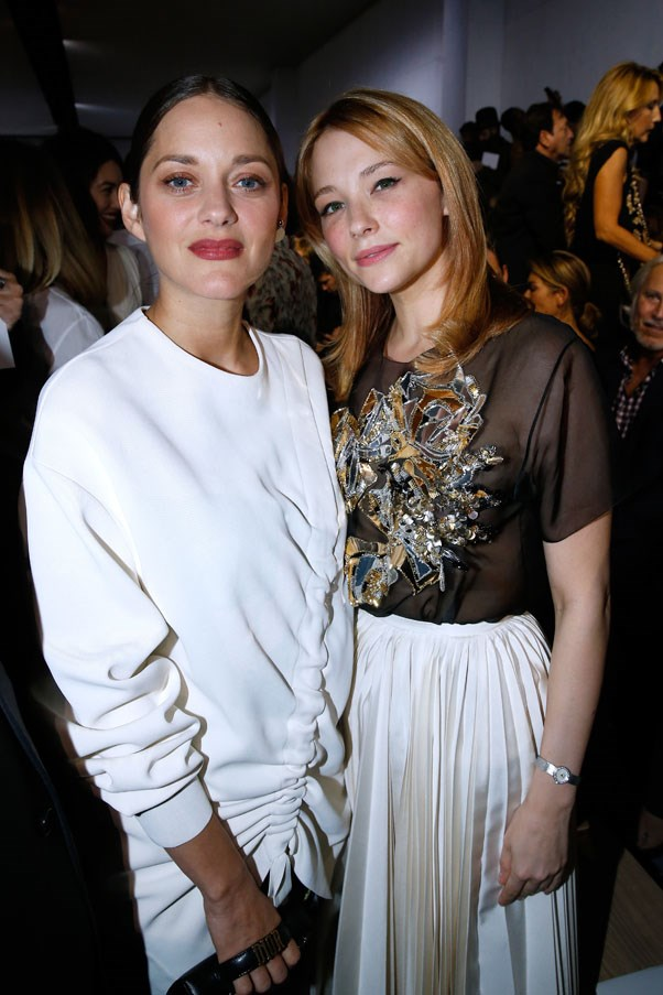 Marion Cotillard and Haley Bennett