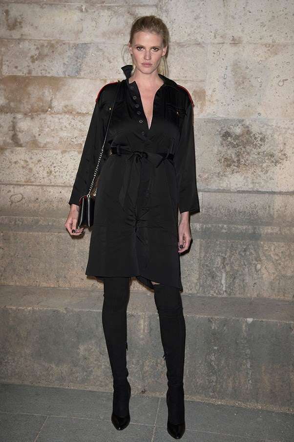 Lara Stone at Givenchy
