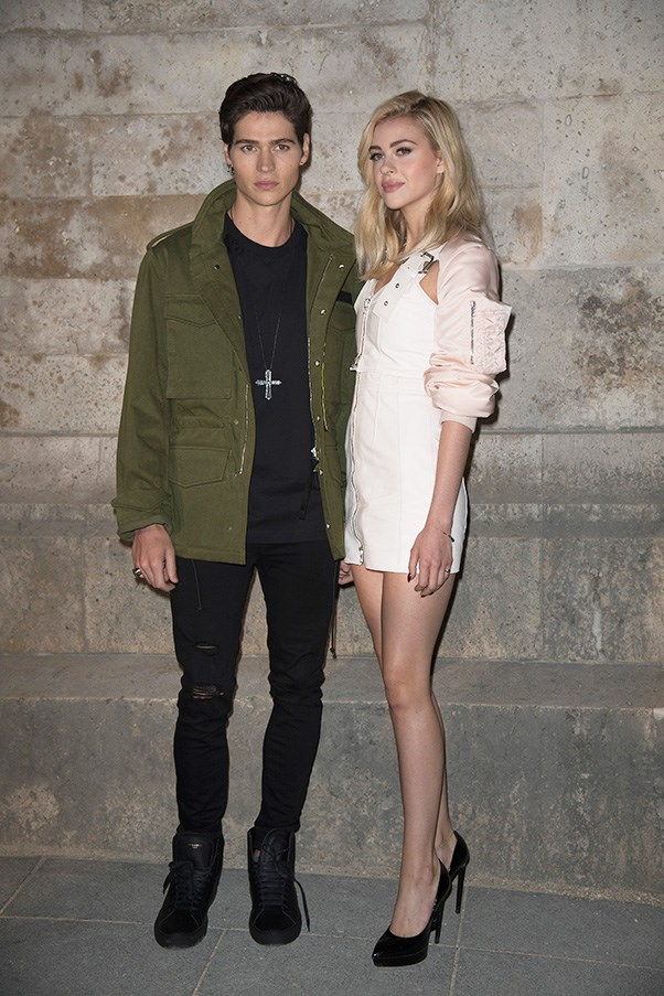 Will Peltz and Nicola Peltz at Givenchy