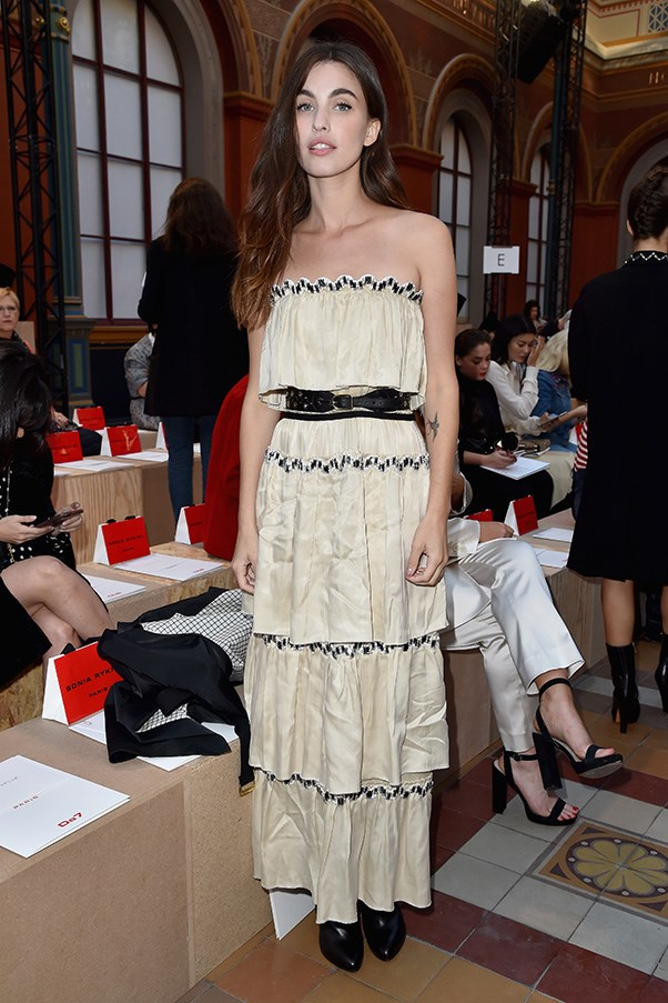 Rainey Qualley at Sonia Rykiel