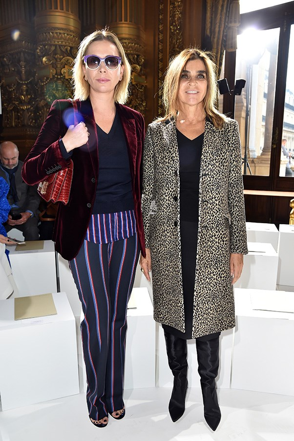 Carine Roitfeld at Stella McCartney