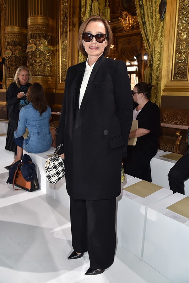 Kristin Scott Thomas at Stella McCartney