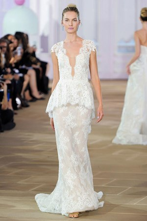 unexpected bridal fashion week trends