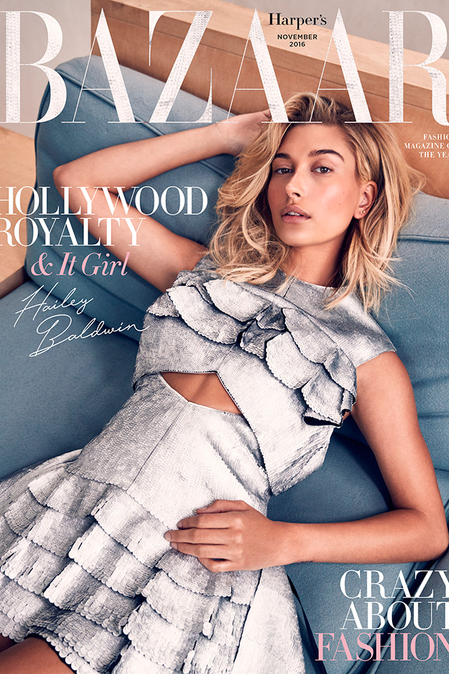 Hailey Baldwin is Our November Cover Star!