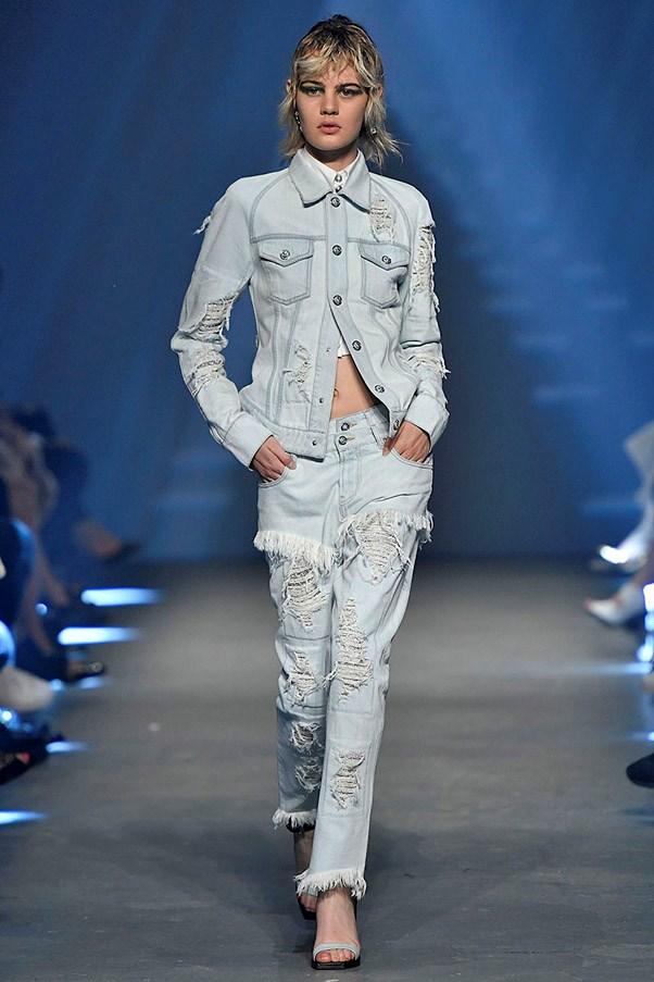 <strong>Blue Jean Queen</strong> <br><br> Versus Versace