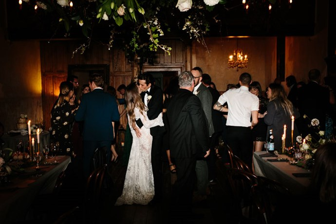 <strong>On the first dance:</strong> <br><br> 'Harvest Moon' by Neil Young was our first dance. I get goosebumps looking at the images now. We look so happy and so in love in each frame during the dance. It was so special.