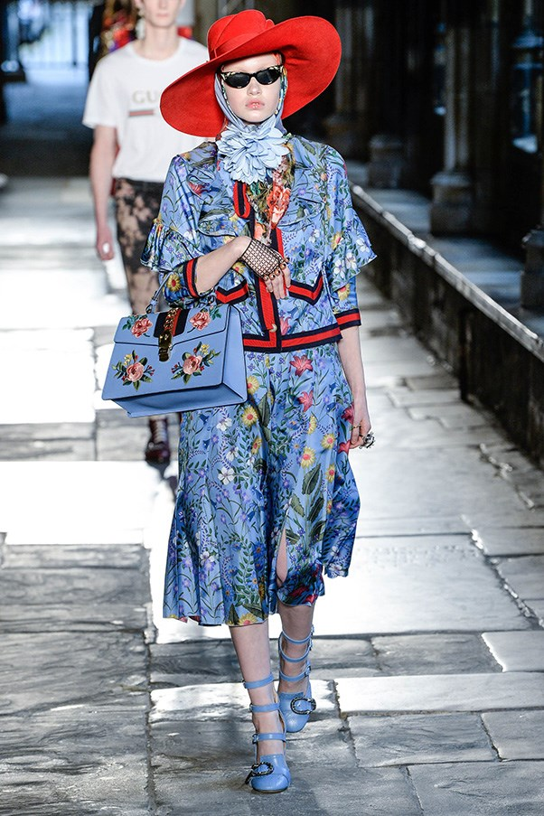 <strong>Botanical florals</strong><br><br> Gucci