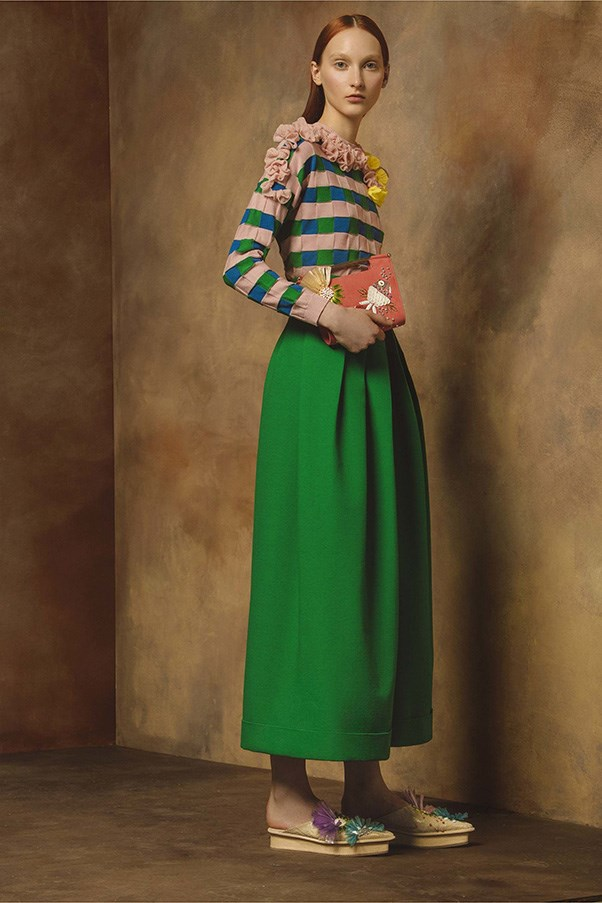 <strong>Horizontal Knitted Striped</strong><br><br> Delpozo