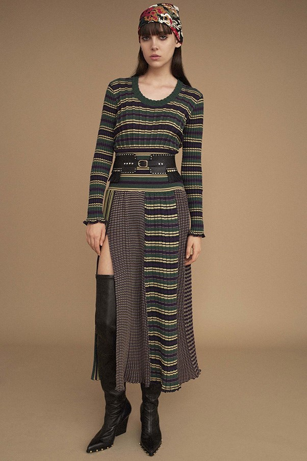 <strong>Horizontal Knitted Striped</strong><br><br> Sonia Rykiel