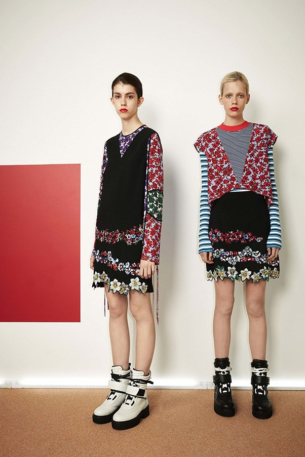 <strong>Patchwork Prints</strong><br><br> MSGM