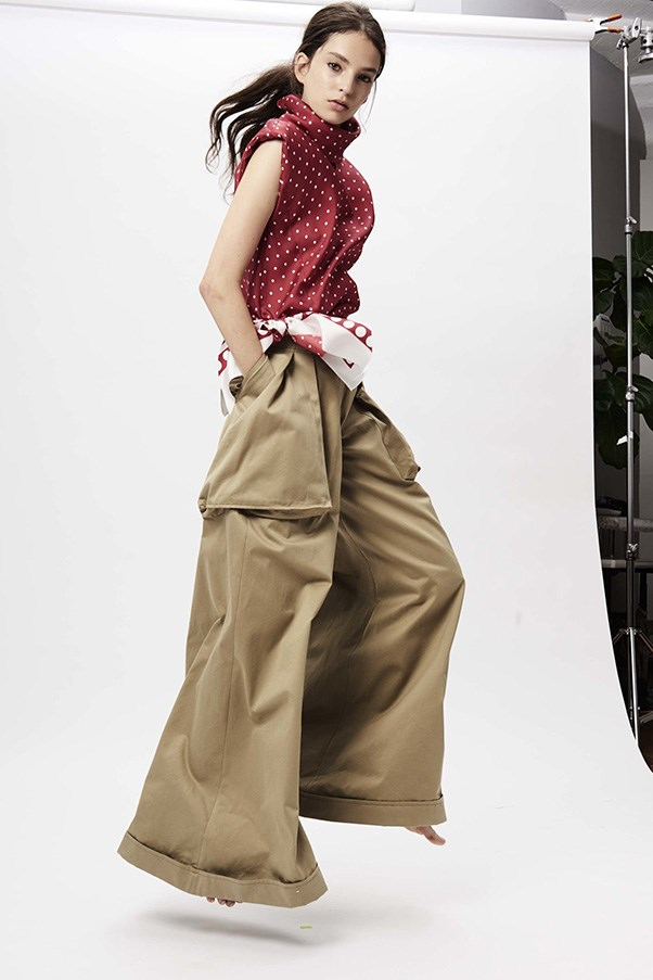 <strong>Wide-Legged Trousers</strong><br><br> Monse