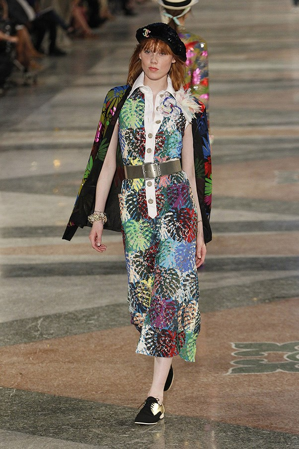 <strong>Tropical Prints</strong><br><br> Chanel