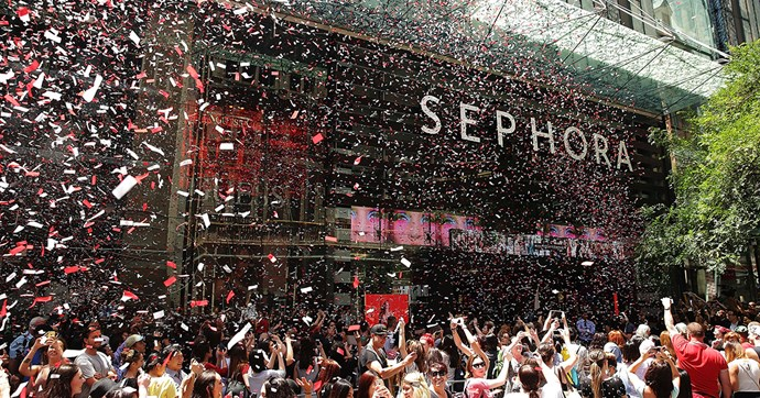 sephora warringah mall opening date