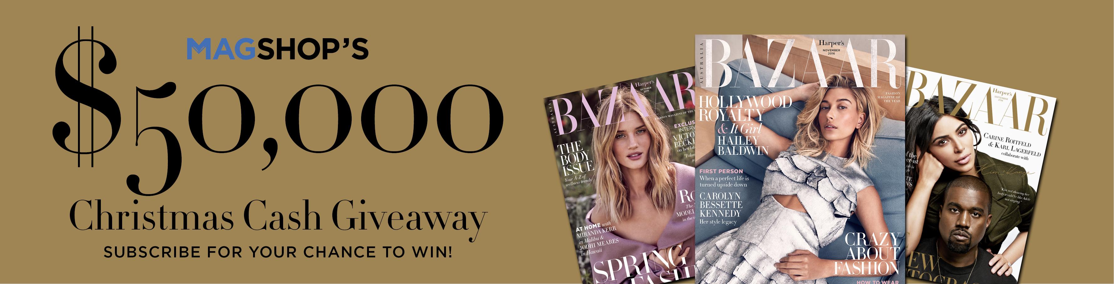 Subscribe to Harper's Bazaar