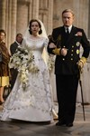 the crown queen elizabeth wedding