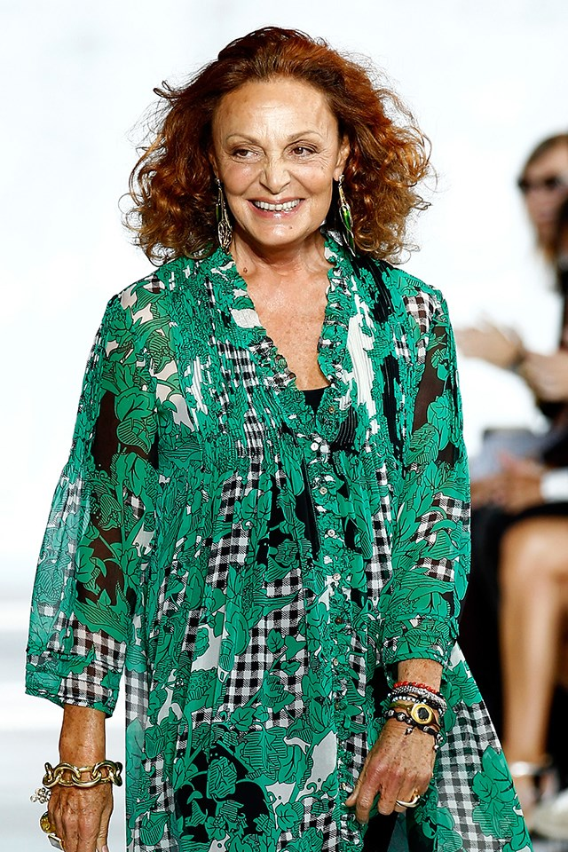 """<strong>Yes: Diane von Furstenberg</strong> <br><br> The designer told WWD, """"Donald Trump was elected and he will be our president. Melania deserves the respect of any First Lady before her. Our role as part of the fashion industry is to promote beauty, inclusiveness, diversity. We should each be the best we can be and influence by our example."""" Interesting, von Furstenberg is a close family friend of the Clintons."""