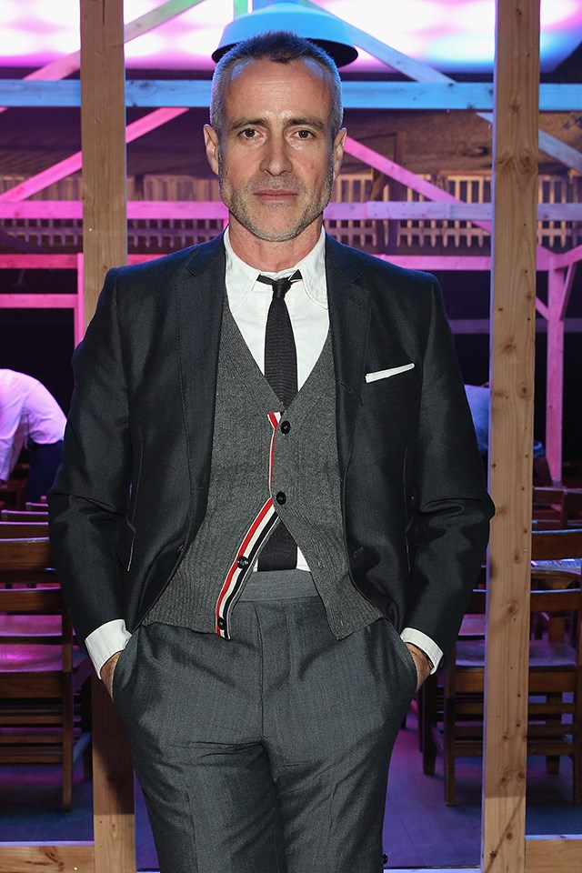 """<strong>Yes: Thom Browne</strong> <br><br> Browne, a menswear designer, told <a href=""""http://wwd.com/fashion-news/fashion-features/designers-talk-about-dressing-melania-trump-10714101/"""" target=""""_blank"""">WWD</a>, """"Out of respect for the position of the First Lady of our United States, I would be honoured to be considered to design for any First Lady of the United States."""""""