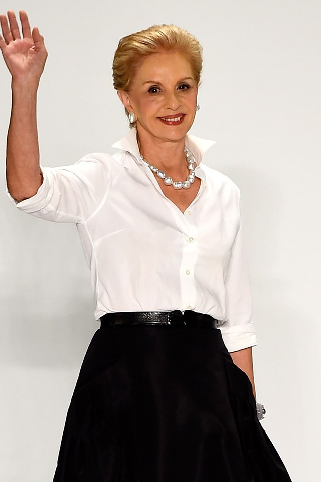 """<strong>Yes: Carolina Herrera</strong> <br><br> Herrera told <a href=""""https://www.businessoffashion.com/articles/first-person/carolina-herrera-billion-dollar-brand-puig"""" target=""""_blank"""">Business of Fashion</a>, """"I think that in two or three months, they'll reach out, because it's fashion. You'll see everyone dressing Melania. She's representing the United States."""""""