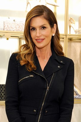 Cindy Crawford Jimmy Choo event