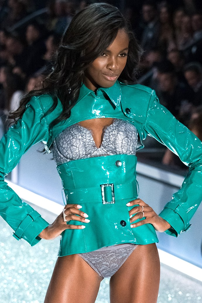 """<strong>Leomie Anderson</strong><br><br> """"I tried these classes called SLT which stands for strength, length, and toning. I nearly died the first time I did it .I didn't realise that it was going to take so much out of me. I thought I was strong, but no. I realised I needed to put in more work to keep up with the rest of the class. My favourite is working out with my personal trainer at Dogpound because he really encourages me and pushes me to go hard. When I am in the gym by myself I just end up taking selfies, going on Snapchat, and then leaving."""""""