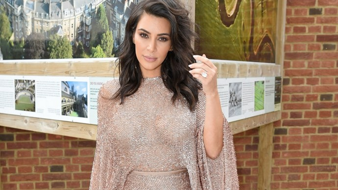 Kim Kardashian Returns to Social Media