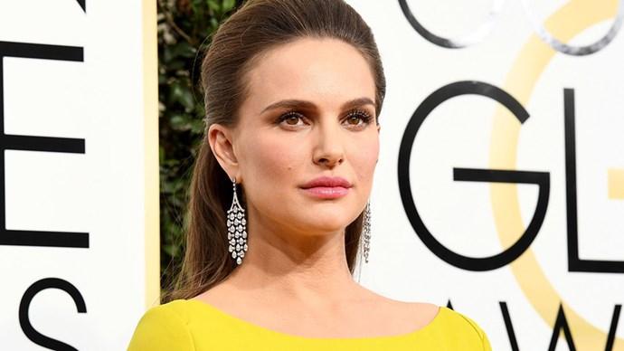 Natalie Portman Golden Globes 2017